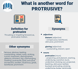 protrusive, synonym protrusive, another word for protrusive, words like protrusive, thesaurus protrusive