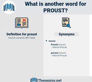 proust, synonym proust, another word for proust, words like proust, thesaurus proust