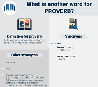 proverb, synonym proverb, another word for proverb, words like proverb, thesaurus proverb