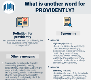 providently, synonym providently, another word for providently, words like providently, thesaurus providently