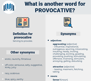 provocative, synonym provocative, another word for provocative, words like provocative, thesaurus provocative