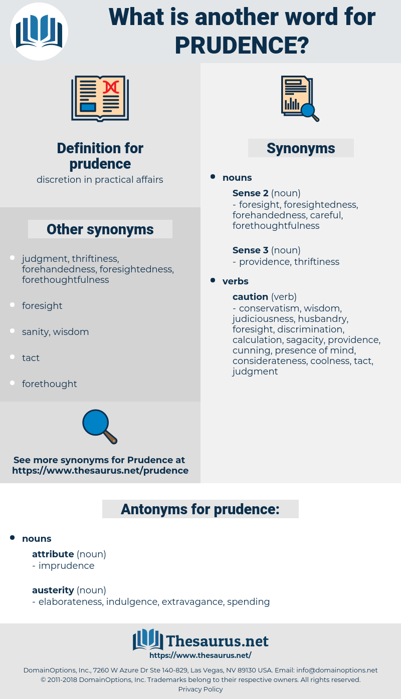 prudence, synonym prudence, another word for prudence, words like prudence, thesaurus prudence