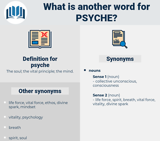 psyche, synonym psyche, another word for psyche, words like psyche, thesaurus psyche