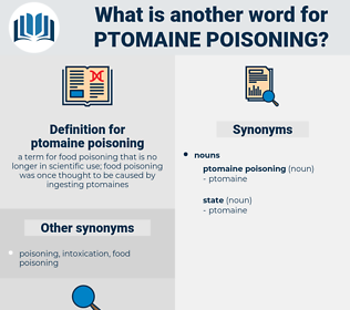 ptomaine poisoning, synonym ptomaine poisoning, another word for ptomaine poisoning, words like ptomaine poisoning, thesaurus ptomaine poisoning