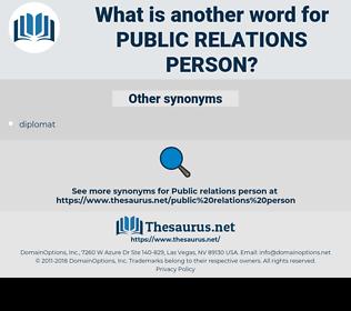 public relations person, synonym public relations person, another word for public relations person, words like public relations person, thesaurus public relations person