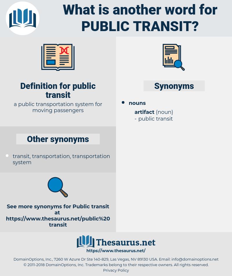 public transit, synonym public transit, another word for public transit, words like public transit, thesaurus public transit