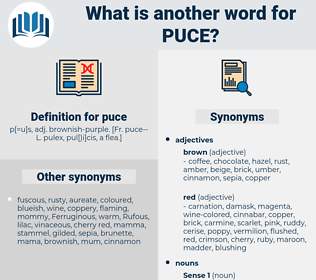 puce, synonym puce, another word for puce, words like puce, thesaurus puce
