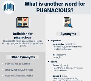 pugnacious, synonym pugnacious, another word for pugnacious, words like pugnacious, thesaurus pugnacious