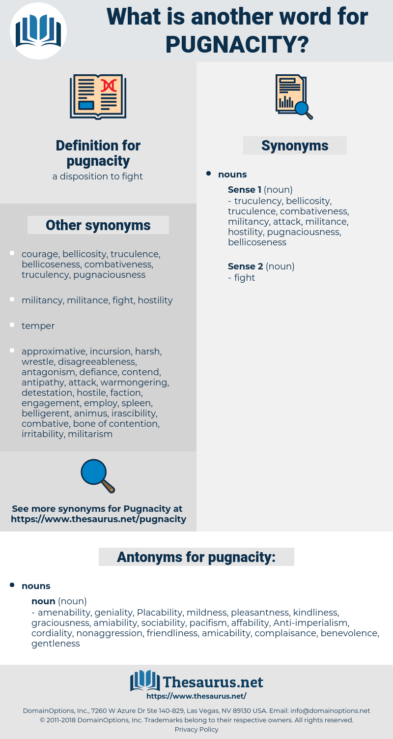 pugnacity, synonym pugnacity, another word for pugnacity, words like pugnacity, thesaurus pugnacity