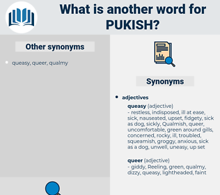 pukish, synonym pukish, another word for pukish, words like pukish, thesaurus pukish