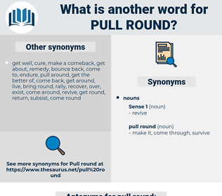 pull round, synonym pull round, another word for pull round, words like pull round, thesaurus pull round
