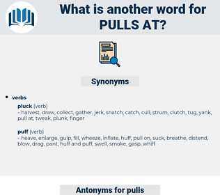 pulls at, synonym pulls at, another word for pulls at, words like pulls at, thesaurus pulls at