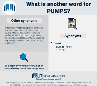 pumps, synonym pumps, another word for pumps, words like pumps, thesaurus pumps