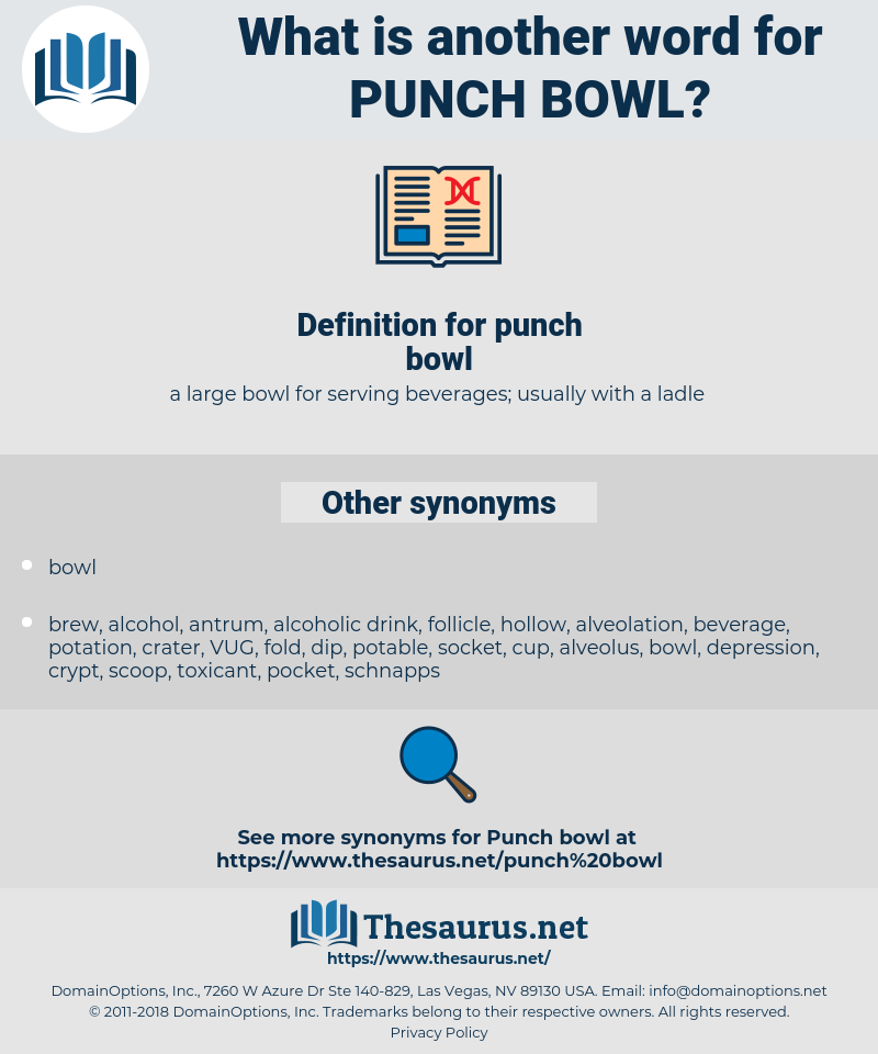 punch bowl, synonym punch bowl, another word for punch bowl, words like punch bowl, thesaurus punch bowl