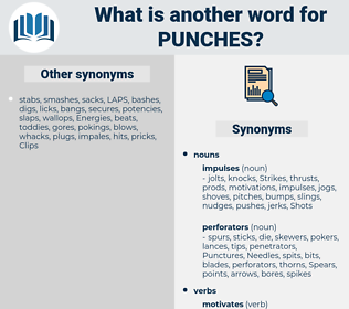 punches, synonym punches, another word for punches, words like punches, thesaurus punches