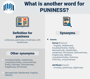 puniness, synonym puniness, another word for puniness, words like puniness, thesaurus puniness