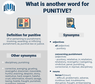 punitive, synonym punitive, another word for punitive, words like punitive, thesaurus punitive