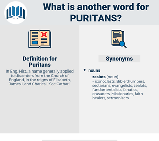 Puritans, synonym Puritans, another word for Puritans, words like Puritans, thesaurus Puritans