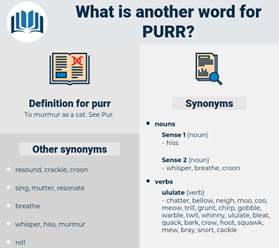 purr, synonym purr, another word for purr, words like purr, thesaurus purr