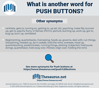 push buttons, synonym push buttons, another word for push buttons, words like push buttons, thesaurus push buttons