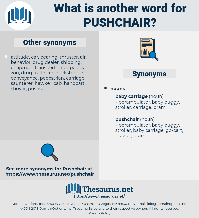pushchair, synonym pushchair, another word for pushchair, words like pushchair, thesaurus pushchair