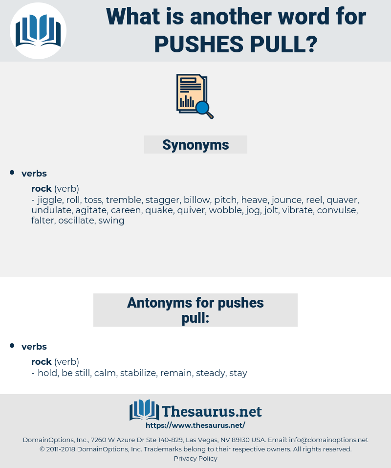 pushes pull, synonym pushes pull, another word for pushes pull, words like pushes pull, thesaurus pushes pull