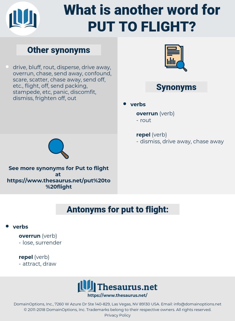 put to flight, synonym put to flight, another word for put to flight, words like put to flight, thesaurus put to flight