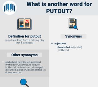 putout, synonym putout, another word for putout, words like putout, thesaurus putout