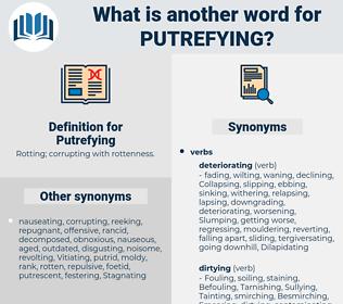 Putrefying, synonym Putrefying, another word for Putrefying, words like Putrefying, thesaurus Putrefying