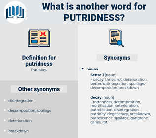putridness, synonym putridness, another word for putridness, words like putridness, thesaurus putridness