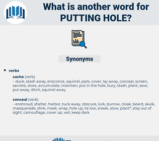 putting hole, synonym putting hole, another word for putting hole, words like putting hole, thesaurus putting hole