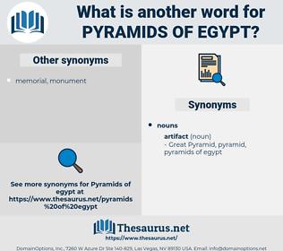pyramids of egypt, synonym pyramids of egypt, another word for pyramids of egypt, words like pyramids of egypt, thesaurus pyramids of egypt