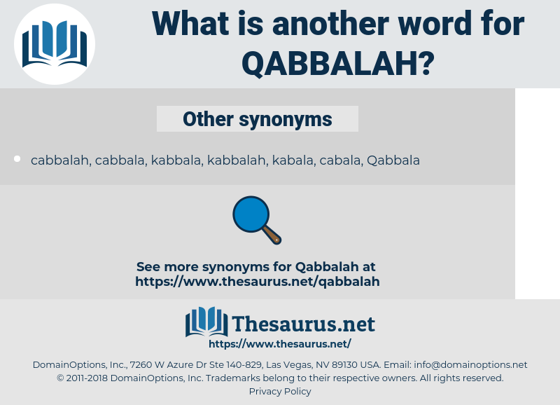 Qabbalah, synonym Qabbalah, another word for Qabbalah, words like Qabbalah, thesaurus Qabbalah