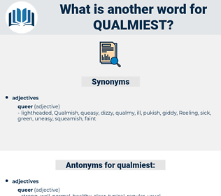 qualmiest, synonym qualmiest, another word for qualmiest, words like qualmiest, thesaurus qualmiest
