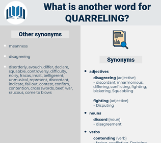 Quarreling, synonym Quarreling, another word for Quarreling, words like Quarreling, thesaurus Quarreling