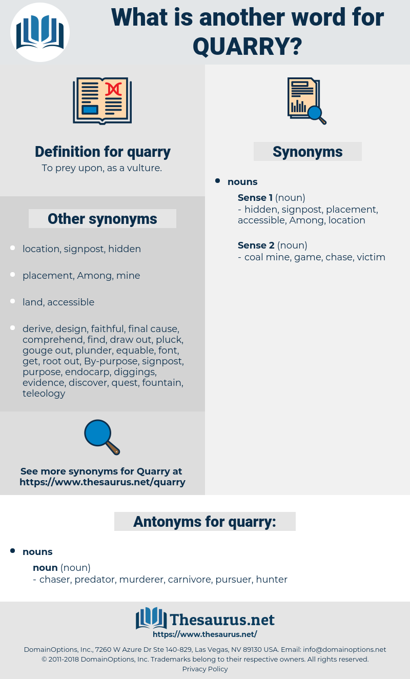 quarry, synonym quarry, another word for quarry, words like quarry, thesaurus quarry