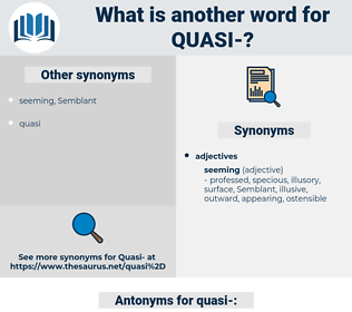 quasi, synonym quasi, another word for quasi, words like quasi, thesaurus quasi