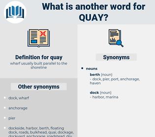 quay, synonym quay, another word for quay, words like quay, thesaurus quay