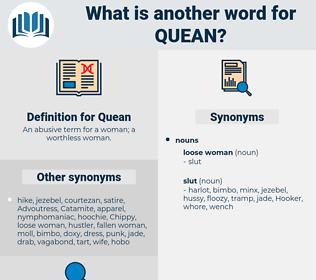 Quean, synonym Quean, another word for Quean, words like Quean, thesaurus Quean