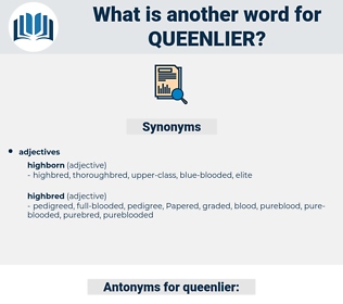 queenlier, synonym queenlier, another word for queenlier, words like queenlier, thesaurus queenlier