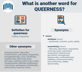 queerness, synonym queerness, another word for queerness, words like queerness, thesaurus queerness