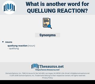 Quellung Reaction, synonym Quellung Reaction, another word for Quellung Reaction, words like Quellung Reaction, thesaurus Quellung Reaction