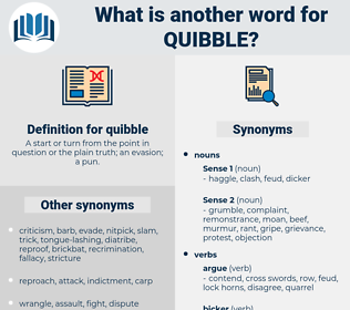 quibble, synonym quibble, another word for quibble, words like quibble, thesaurus quibble