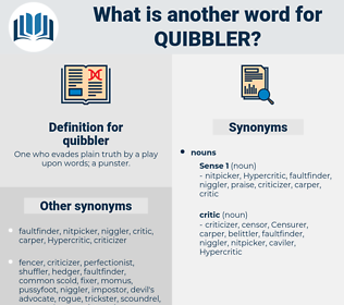quibbler, synonym quibbler, another word for quibbler, words like quibbler, thesaurus quibbler