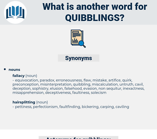 quibblings, synonym quibblings, another word for quibblings, words like quibblings, thesaurus quibblings
