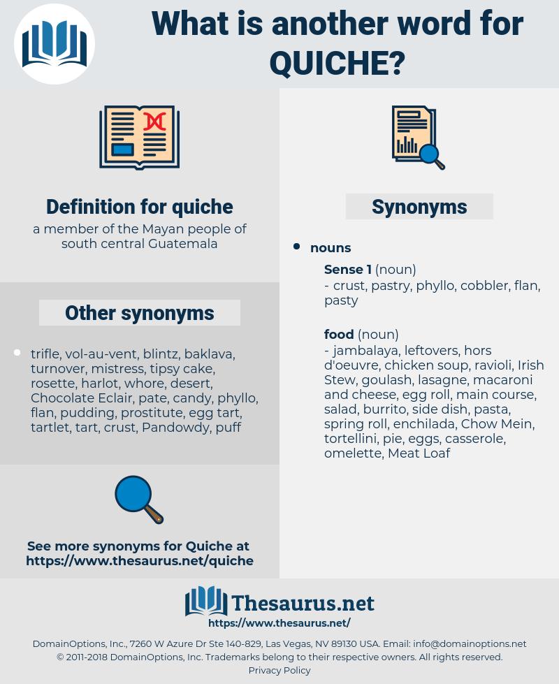 quiche, synonym quiche, another word for quiche, words like quiche, thesaurus quiche