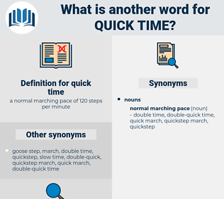 quick time, synonym quick time, another word for quick time, words like quick time, thesaurus quick time