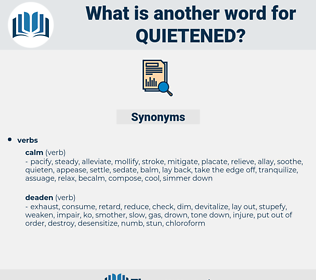 quietened, synonym quietened, another word for quietened, words like quietened, thesaurus quietened