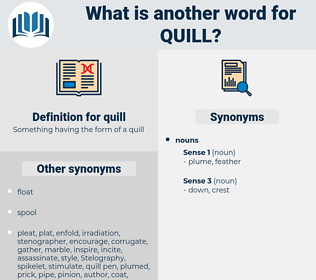 quill, synonym quill, another word for quill, words like quill, thesaurus quill