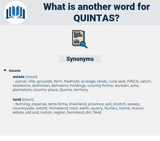 quintas, synonym quintas, another word for quintas, words like quintas, thesaurus quintas